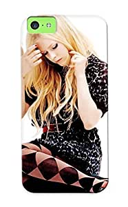Iphone 5c Hard Back With Bumper Silicone Gel Tpu Case Cover For Lover's Gift Avril Lavigne