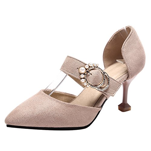 Heels D Women apricot Shoes Orsay FizaiZifai Pumps qwtnvaaB