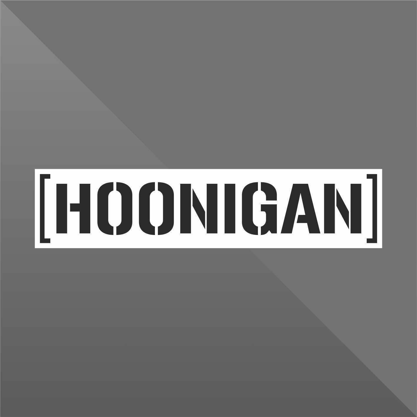 PEGATINA STICKER VINILO Hoonigan autocollant aufkleber adesivi