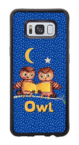 (AOFFLY Case for Samsung Galaxy S8 Plus Only - Tina Lavoie - Cute Baby Owls - Shock Absorption Protection Phone Cover Case )