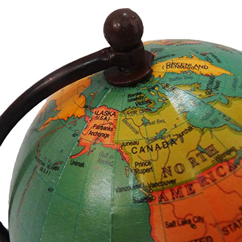 Handmade globe world map round shape 4 green ball globe home dcor handmade globe world map round shape 4 green ball globe home dcor plastic stand plastic tall standing table topper gumiabroncs Images