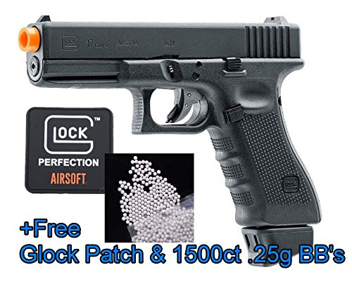 Glock - Elite Force 17 Gen4 Co2 Full Blowback Airsoft w/Free Patch & 1500 BB's