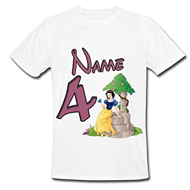T-Shirts & Tops Kids' Clothes, Shoes & Accs. Personalised Children T Shirt Custom Printed Kids Birthday Tee Top Any Text Name