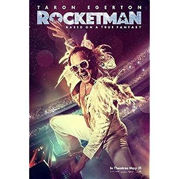 Rocketman FINAL Double Sided Original Movie Poster 27x40