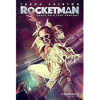 ROCKETMAN MOVIE POSTER 2 Sided ORIGINAL Advance 27x40 TARON EGERTON JAMIE BELL