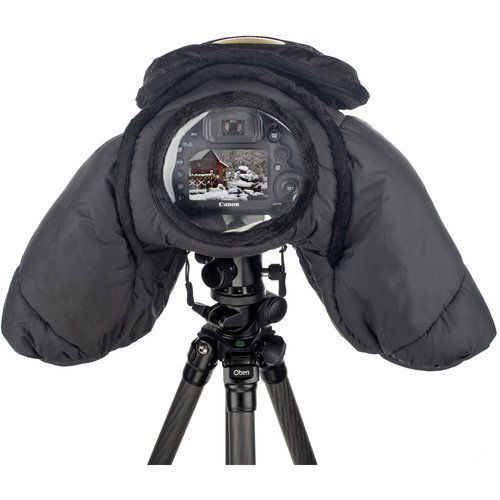 Ruggard DSLR Parka Cold and Rain Protector for Cameras and Camcorders (Black) by Unknown