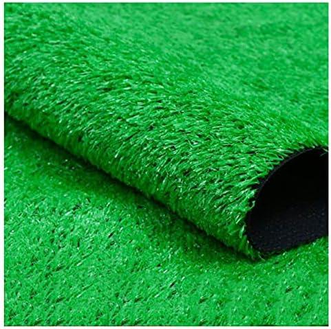 YNGJUEN 高品質人工芝15ミリメートルの高さ、現実的で厚い偽の模造わらマット、屋外ガーデン犬ペット人工芝 (Size : 2x7m)