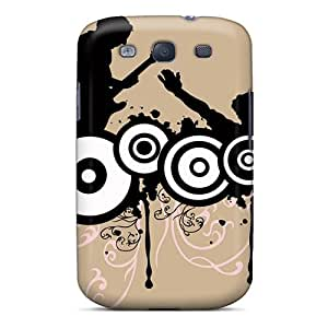 New Galaxy S3 Case Cover Casing(music Style Vector)