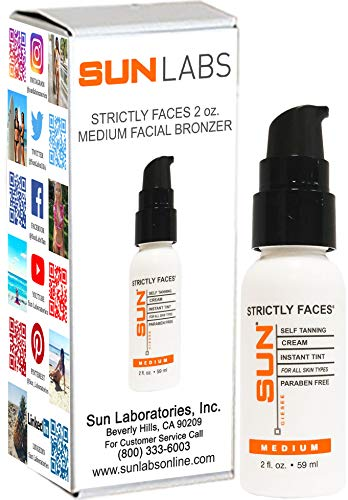 Self Tanning for Face - Natural Facial Sunless Tanning Lotio