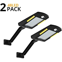 2-Pack Kufung Outdoor Solar Flood Light