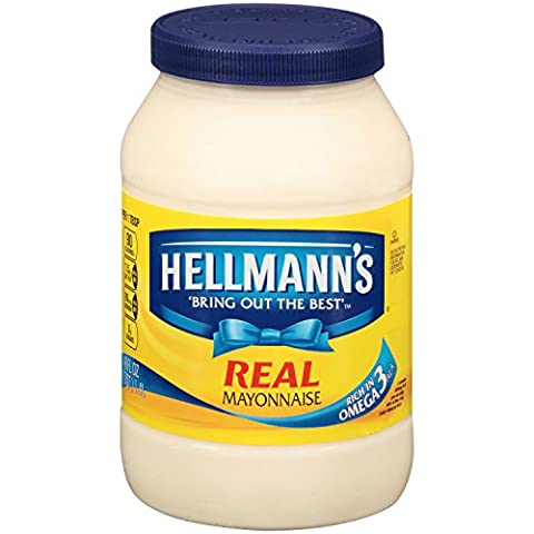 Hellmann's Real Mayonnaise, Real Mayo 48 oz, Twin Pack - Ingredients In Mayonnaise