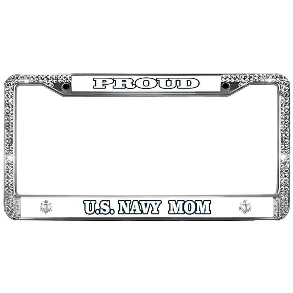 BLACK Powder Coated Metal License Plate Frame Tag Holder w//Screw caps* 2x SAAB