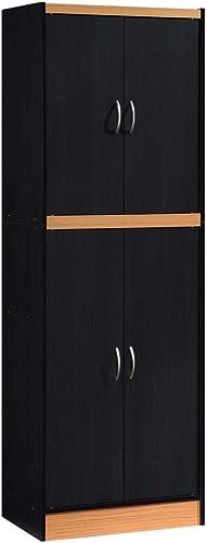 Hodedah 4-Door 4-Shelves