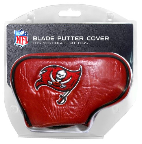 Team Golf NFL Tampa Bay Buccaneers Golf Club Blade Putter Headcover, Fits Most Blade Putters, Scotty Cameron, Taylormade, Odyssey, Titleist, Ping, Callaway ()