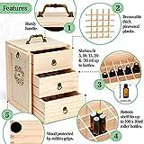 Essential Oil Storage for 75 Bottles - Holds 5 10