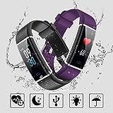 Lintelek Fitness Tracker, Color Screen Activity