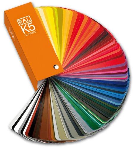 - RAL K5 Classic Colour Guide semi-matte