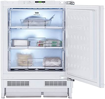 Beko BU 1201 - Congelador (Vertical, Incorporado, Color blanco ...