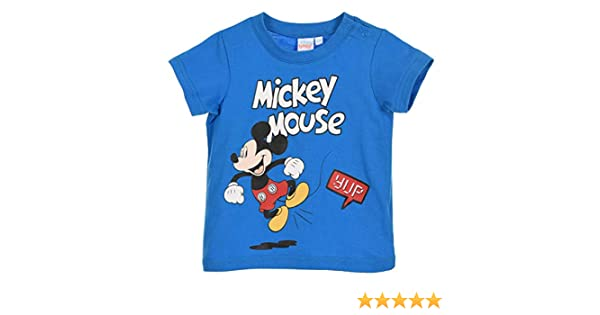 Mickey Mouse beb/é-ni/ños Camiseta De Manga Corta