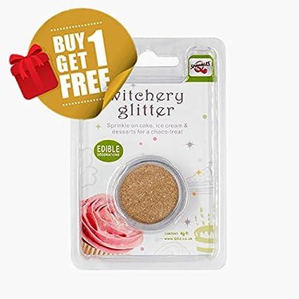 Quality Sprinkles Natural Comestible Bronce Tuercas Leche de Soja Gluten OMG azúcar Libre con Purpurina