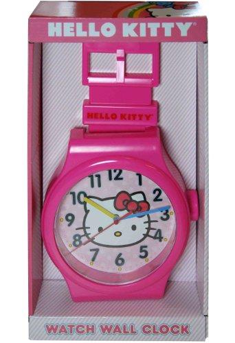 Sanrio Hello Kitty Watch Shaped Wall Clock
