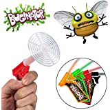 4pk Buginator Fly Swatter Guns Insect Bug Pest Killer Spring Loaded Shot Shooter