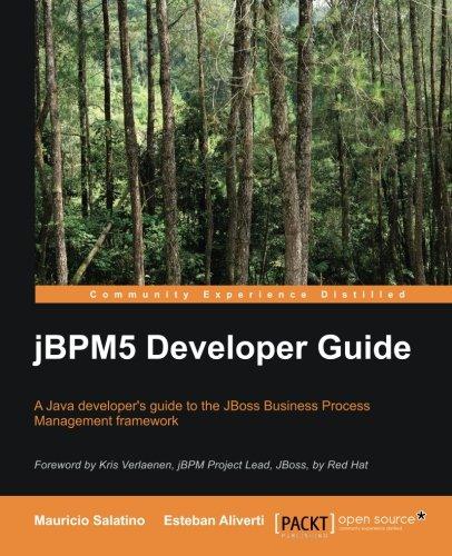 jBPM5 Developer Guide by Esteban Aliverti , Mauricio Salatino, Publisher : Packt Publishing
