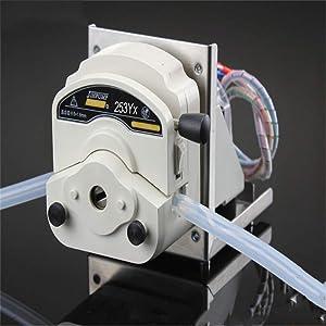 Food Grade Stepper Motor Peristaltic Pump Medical Liquid Metering 24v Long Life