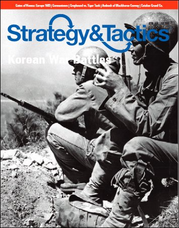DEC: Strategy & Tactics Issue #296, with Korean Battles Board Game