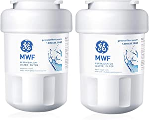 DROPPIC Refrigerator Water Filter Replacement Cartridge for GE MWF, MWFP,GWF, Pack of 2