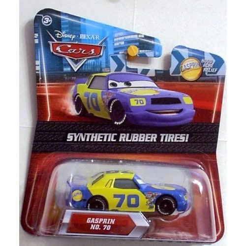 Disney / Pixar CARS Movie Exclusive 155 Die Cast Car with Synthetic Rubber Tires Gasprin - Exclusive Disney Pixar Cars