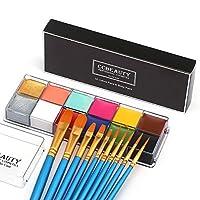 CCbeauty Professional Face Paint Oil 12Colors Painting Art Party Fancy Make Up Set