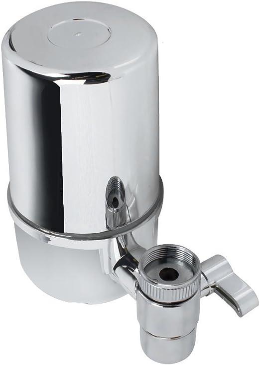 Enshey - Filtro de agua para fregadero de cocina, purificador de ...
