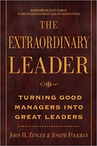 Book Extraordinary Leader: Turning Good Managers Into Great Leaders