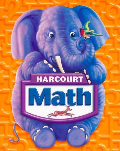Harcourt Math, Grade K