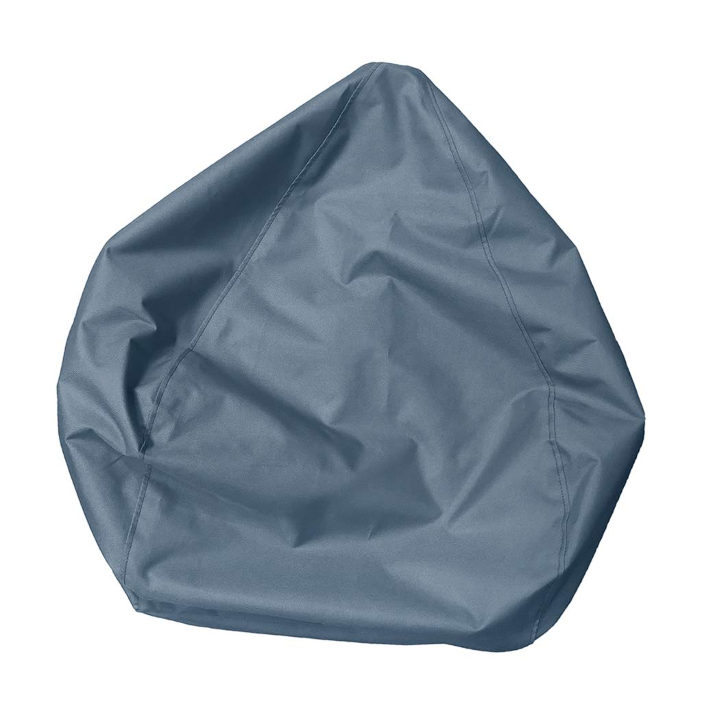 Terrific Amazon Com D Dolity Large Size Bean Bag Cover Without Caraccident5 Cool Chair Designs And Ideas Caraccident5Info