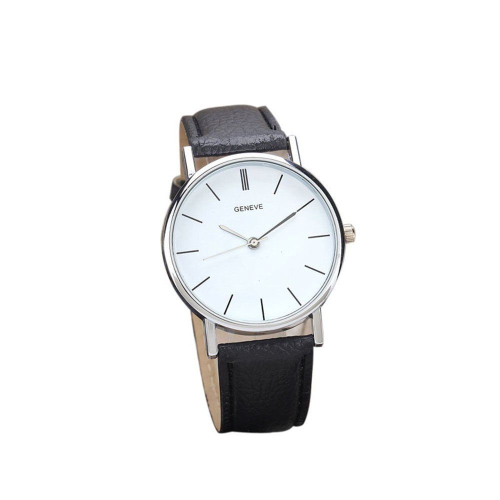 Zaidern Women Wrist Watch Womens Fashion Design Retro Analog Alloy Quartz Classical Leather Watches Ladies Casual Simple Round Dial Leather Band Belt Wristwatch Luxury Business Retro Watches for Women
