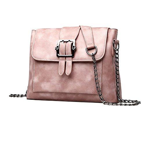2018 Nuove Donne Di Moda Borsa Di Design Borse A Tracolla Catena In Pelle Pu Casuale Messenger Bag