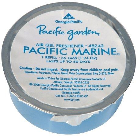 Georgia-Pacific 48240 Pacific Garden Air Freshener Gel Refill, Fresh Linen Scent (Case of 12 Fresheners)
