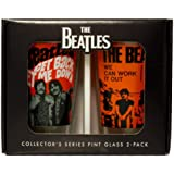 The Beatles Collectors Series Pint Glass 2 Pack