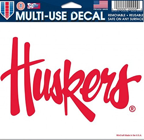 Ncaa Nebraska University (NCAA University of Nebraska Multi-Use Colored Decal, 5