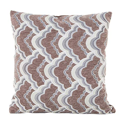 Fxbar,Fashion Throw Pillow Case Vintage Geometric Patterns Cushion Cover Simple Sofa Bed Pillow Encasement(K)