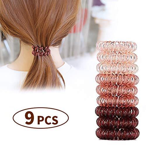 Spiral Hair Coils Ties Rings