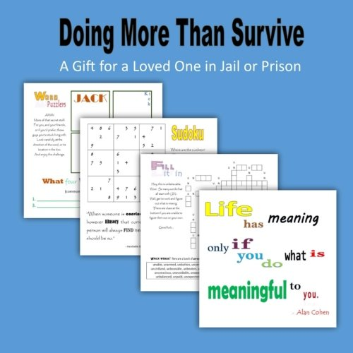 Doing more than survive: a gift for a loved one in jail or prison