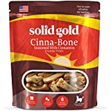 Solid Gold Cinna-Bone Biscuit, Standard Size Holistic Dog Treat, All Ages, All Sizes, 2.5 (Packaging May Vary)