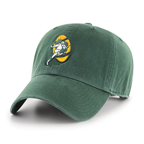 NFL Green Bay Packers Men's OTS Challenger Adjustable Hat, Legacy, One Size