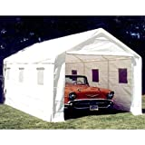 King Canopy 10 x 20 ft. Universal Enclosed Canopy Carport