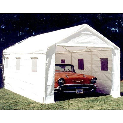 King Canopy 10 x 20 ft. Universal Enclosed Canopy Carport (King Canopy Carport compare prices)