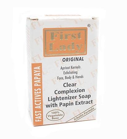 Jabón de hierbas de papaya para aclarar, blanquear, exfoliar e iluminar la piel,
