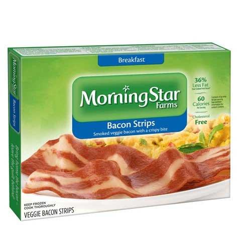 Morningstar Farms Breakfast Veggie Bacon Strips 6 Per Pack 1 Each Amazon Com Grocery Gourmet Food